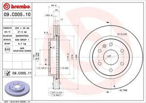 Brembo 09.C005.11 Disc Brake RotorFront|12 Month 12,000 Mile Warranty