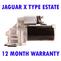 Jaguar x-type estate 2.0 2.2 starter motor 12 month warranty 2003 2004 - 2009