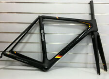 Lightweight Urgestalt German Edition 51cm Carbon Road Rim Frameset (Matt-black)