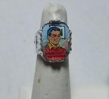 Vintage 1966 Batman & Robin Flicker Ring DICK GRAYSON 1 of series of 12 COOL