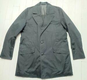 HUGO BOSS COAT XL (UK 44) -  Cool Stylish Black Coat - Looks amazing !!