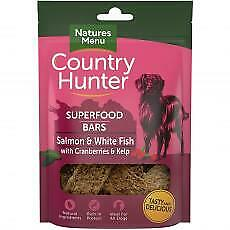 Country Hunter Superfood Bar Salmon & White Fish With Cranberries & Kelp 100g (P