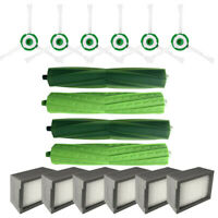 Side Brush Hepa Filters Bristle Brush For iRobot Roomba i7 i7+ i7Plus E5 E6 E7