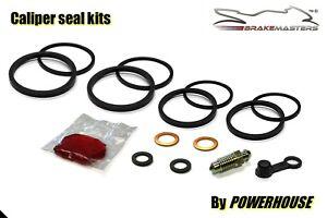 Yamaha TZR125 front brake caliper seal repair rebuild kit set 1995 Sumitomo