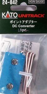 Kato 24-842 ~ New 2021 USA ~ HO or N Scale DC Converter For Non-Kato Power Pack