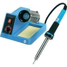 ZD-99  Regelbare Lötstation Lötkolben 100-450°C 48W blau mit Schwamm