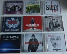 PUHDYS,MASCHINE,SILLY,ROCK LEGENDEN.10 CDs.DDR CD Sammlung.
