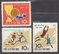 KOREA 1966 mint(*)  SC#706/08 set, World Cup Championship ENGLAND`66, perforate.