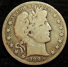 1895 O Barber Half Dollar - Good !!