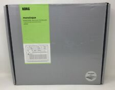 Korg monologue Analog Synthesizer - Silver New Open Box(A Mi)