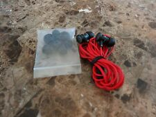 GENUINE Beats By Dr Dre urBeats 2 In Ear Headphones Wired Music Flat Black Red