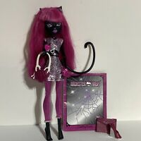 Monster High Scaremester Catty Noir Doll Accessories Tail Purse Diary Notebook