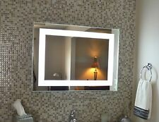 """Lighted vanity mirror, led lighted, wall mounted MAM83224 32"""" Wide x 24"""" Tall"""