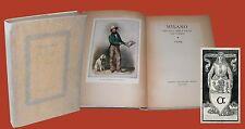 Milano nei suoi libri nelle sue stampe Hoepli Catalogo Noeuva Bosinaa Lautrecho