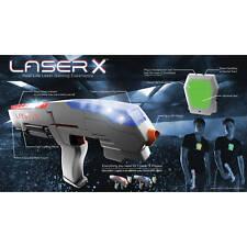Laser Tag Double Set Lazer Blaster Kids Fun 2 Player Interactive Gaming Toy Gun