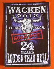 W:O:A 2013 WACKEN OPEN AIR POSTKARTE  Heavy Metal Festival