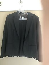 J Crew Dress Suit Heather Gray 6/8 EUC