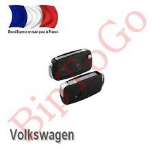 Coque plip clé 2 boutons Volkswagen Golf Bora Polo Jetta Passat Beetle--FRANCE--
