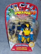 SPIDER-MAN & FRIENDS CRIME FIGHTER WOLVERINE FIGURE SET