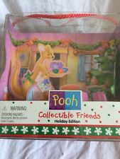 Winnie The Pooh Collectible Friends Holiday Edition #25496 Carolers Mattel Kanga