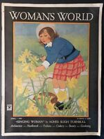Woman's World Magazine. April 1935. Stories, Needlework, Fashion Cookery, Ads