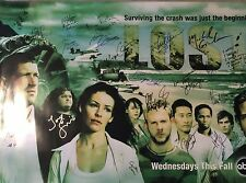 ABC's LOST Cast SIGNED 27x40 Poster J.J. Abrams Fox Lilly O'Quinn Holloway COA