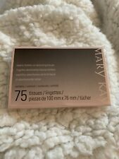 Mary Kay Beauty Blotters Oil-Absorbing Tissues Pads 75 Ct New Blotting Pads