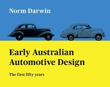 Early Australian automotive design Holden Ford Chrysler history Signed by author