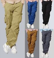 Men's Tactical Combat Military Army Wild Twill Work Trouser Cargo Hiking Pants
