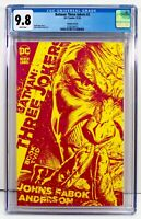BATMAN THREE JOKERS #2 CGC 9.8 - 1:25 Retailer Incentive Yellow Sketch Variant