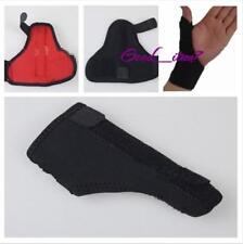 1xUnisex Thumb Loop Finger Wrist Support Strap Splint Brace Sports Protective G