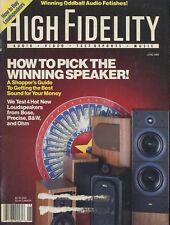 High Fidelity Mag Jun 1989B&W Matrix 3,Precise Monitor 3,Ohm CAM-16,Bose 401