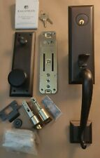 BALDWIN STONEGATE Door Hardware Entry Set Venetian Bronze 5355.112.ENTR