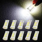 10x White T10 Led Bulbinterior Instrument Cluster Light For 1990-2017 Hyundai