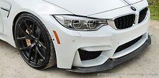 Carbon Fibre V Style Front Lip Splitter Spoiler For BMW F80 M3 F82 M4 F83 M4