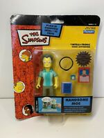 Playmates The Simpsons World Of Springfield Handsome Moe Figure BOXED RARE