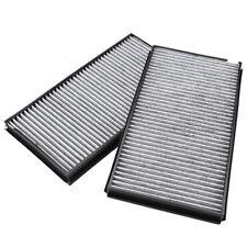 2X Cabin Air Filter For 04-10 BMW E60 528i 535i 535xi 545i 550i 650i M5 M6 Novel