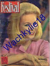 Festival n°683 de 1962 Jill Hayworth Gilbert Bécaud Elga Andersen