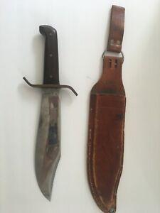 Western Bowie USA Knife, Vintage