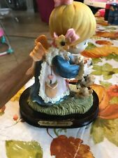 Belle & Benny Figurine Girl With Puppy