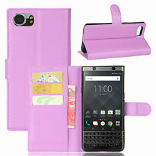 NEW Case Cover For Blackberry KEYone Magnetic Flip PU Leather Wallet Card Holder