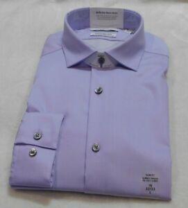 Calvin Klein Infinite Non Iron Slim Fit Stretch Dress Shirt Size L- 16 x 32/33