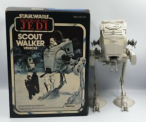 STAR WARS : VINTAGE SCOUT WALKER MADE BY PALITOY IN 1982 (DRMP)