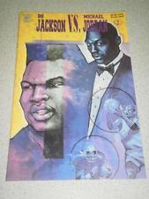 VINTAGE COMIC- CELEBRITY COMICS-#2 BO JACKSON VS. MICHAEL JORDAN- 1992- NEW - L8