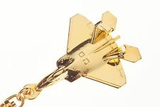 F22 Raptor KEY RING - Gold plated