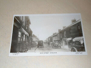 EARLY REAL PHOTO PC - MAIN STREET, STALHAM, NORFOLK BROADS, NORFOLK