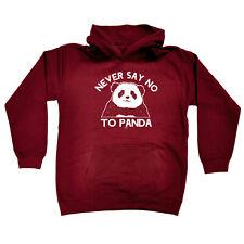 Funny Kids Childrens Hoodie Hoody - Never Say No To Panda