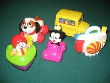 1995-98 Mcdonalds Toddler Happy Meal toys.