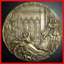 Monarchy/ Inês de Castro - The Dead Queen/ Love Story/Bronze Medal by C. (M.***)