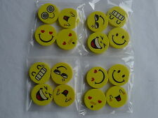 Eraser / Rubber, Smiley/ Funny/Cute Face, party bag, Stationery, Girls/Boys 4x4